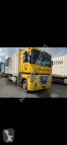 Camión portacontenedores Renault Magnum 460.19 DXI