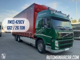 Camion Volvo FM13 420 rideaux coulissants (plsc) occasion