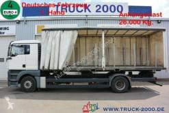 Camión lonas deslizantes (PLFD) MAN TGA TGA 18.350 1.Hand 5 Sitzer Schalter lückenlos SH