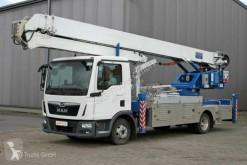 MAN 8.190 TGL Klaas K 750 Autokran 38 m мобилен кран втора употреба