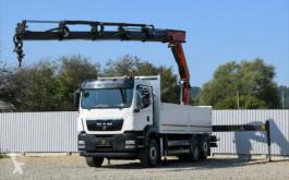 Камион платформа MAN TGS 26.440 Pritsche 6,40 + PK26002/FUNK / 6x4H-2