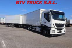 Iveco Stralis STRALIS 420 MOTRICE 3 ASSI FURGONATO+BIGA EURO 6 Lastzug gebrauchter Kastenwagen