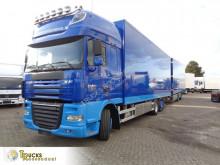 DAF box trailer truck XF105