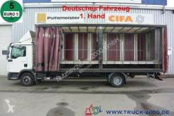 Камион подвижни завеси MAN TGL TGL 12.180 Schiebeplane L.+R. Zwischenboden 1.Hd