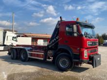 Camión Gancho portacontenedor Volvo TERBERG VOLVO FM13.500 6X6 SCARRABILE BALESTRATO