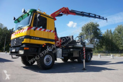 Camion plateau Mercedes ACTROS 3348 6x6 Palfinger PK 35000 Crane