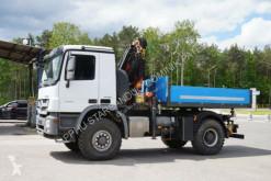 Camion plateau Mercedes Actros 1844 4x4 Palfinger 18001 WINDE FUNK KRAN