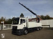 Kamion MAN TGS 26.430 TGS Baustoff HIAB 228 B4 6x2 plošina bočnice použitý