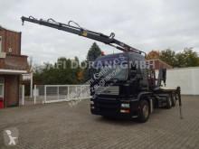 Camión MAN TGS 26.460 Abroller + HIAB 166E 3x Hydr. Ausschub Gancho portacontenedor usado