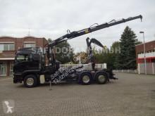 Lastbil MAN TGS 26.460 Abroller + HIAB 166E 3x Hydr. Ausschub polyvagn begagnad