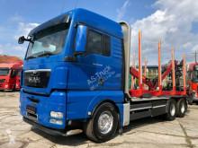 Ciężarówka MAN TGX TGX 26.540 6x4 Kran Hiab 120 S 79 Aufbaulange 7. dłużyca używana