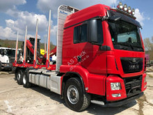 Camión MAN TGS TGS 26.480 6x4H-2 BL Kran mit Kabine maderero usado