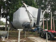 Mercedes Asphaltmulde Asphaltbirne nur Aufbau für 4-Achs zbiornik używany
