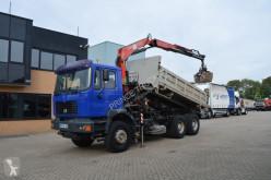 Ciężarówka platforma MAN 32.362 * FASSI 150 * MANUAL * * FULL STEEL *