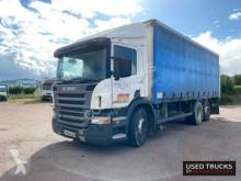 Камион подвижни завеси Scania