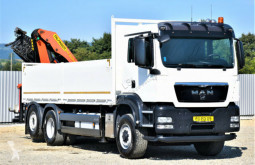 Камион MAN TGS 26.440 Pritsche 6,40 + PK26002/FUNK / 6x4H-2 платформа втора употреба