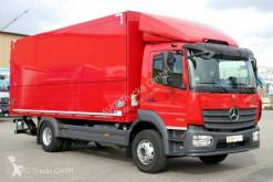 Teherautó Mercedes Atego 1630 L Atego Getränkekoffer LBW AHK Maul + Kugel használt italszállító furgon