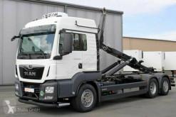 Lastbil polyvagn MAN TGS 26.460 TGS 6X2-4 Meiller Lenkachse Retarder
