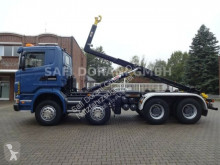 Scania R420 R 420 Abroller 8x4 LKW gebrauchter Abrollkipper