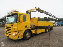 Camión Palfinger Scania P320 6x2*4 PK18002 EH caja abierta teleros usado