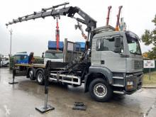 Vrachtwagen platte bak MAN TGA 26.350