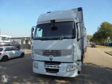 Nyerges vontató és pótkocsi Renault Premium használt függönyponyvaroló