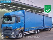 Ciężarówka z przyczepą firanka Mercedes Actros 2642