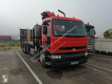 Ciężarówka Renault Premium 320.26 do transportu sprzętów ciężkich używana