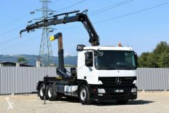 Kamion Mercedes Actros 2641 + HIAB 166E-5HIDUO/FUNK * 6x4 plošina použitý