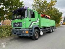 Ciężarówka MAN 26.414 26.414 6X4 Baustoffwagen Palfinger PK16000/Retar platforma burtowa używana