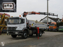 Camión volquete volquete trilateral Mercedes Axor 1833 K 2-Achs Kipper Kran Atlas 135+Funk