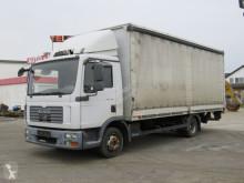 Camión MAN TGL TG-L 8.180 Pritsche LBW Dautel 1to Klimaanlage lona corredera (tautliner) usado