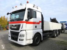 Ciężarówka platforma burtowa MAN 26.480 TG-X 6x2-2 LL Pritsche Heckkran Lift Lenkachse