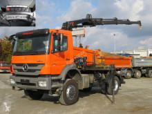 Camión volquete volquete trilateral Mercedes Axor 1829 AK 4x4 2-Achs Allradkipper Kran Funk+Greifer
