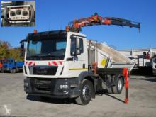 Ciężarówka MAN TGM TG-M 18.340 4x2 2-Achs Kipper Kran Funk 3xhydr+Greifer wywrotka trójstronny wyładunek używana