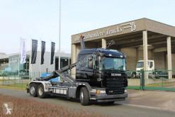 Camión Scania G 440 Gancho portacontenedor usado