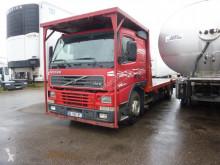 Camion Volvo FH12 420 plateau porte paille occasion