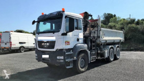 Camión MAN TGS 26.360 volquete volquete bilateral usado
