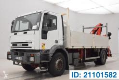 Lastbil Iveco Eurotech 190E35 flatbed brugt