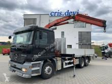 Lastbil platta Mercedes Actros 2535 6x2 Fassi F130 | Liftachse | Euro 3