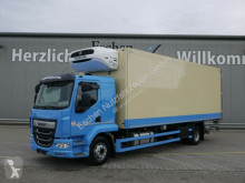 Lastbil DAF LF 260*Schmitz TK*Thermo King T1200R*Diesel/Netz kylskåp begagnad