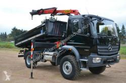 Camión volquete volquete trilateral Mercedes 1424 Palfinger Kran m.Funk 4x4 41TKM