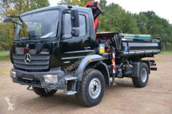 Camion Mercedes 1424 Palfinger Kran m.Funk 4x4 41TKM benne occasion