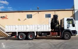 Camion plateau ridelles Iveco 310 6X4 HIAB 330 AÑO 2005