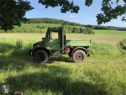 Remolque agrícola Mercedes-Benz U 90 / 408 volquete con cortina usado