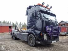 Camión Gancho portacontenedor Volvo FH480 6x2 Hook truck