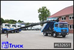 Camión volquete volquete trilateral MAN F2000 F2000, 18.284, HIAB Kran, 3 Seitenkipper, Tuev 03.22