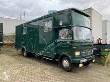 Mercedes lószállító utánfutó teherautó 813,H-Kennzeichen,HU02/22,Nieh