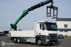 Camion Palfinger MERCEDES-BENZ ACTROS / 2640 / E 6 / SKRZYNIOWY + HDS / PK 21001 L / plateau occasion