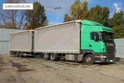 Camion rideaux coulissants (plsc) Scania R 420,EURO 5,RETARDER+SCHWARZMULLER,18 PALLETS